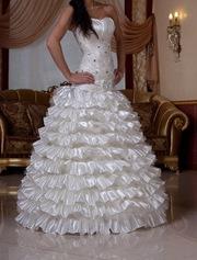 Шикарное Новое Свадебное Платье!!!СРОЧНО!