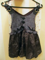 Модное платье-сарафан