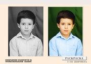 Восстановление старых фотографий. Разработка коллажей,  макетирование