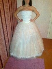 Свадебное платье , БЕЛОЕ