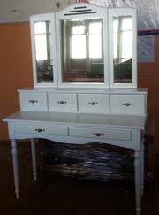 Мебель из массива по индивидуальным заказам