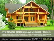 Строительство деревянных дачных домов Гомель.