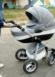 Продам детскую модульную коляску Riko nano alu 2 в 1.