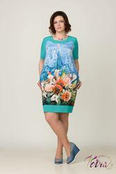 Опт,  мелкий опт! Нарядные платья больших,  50-70,  размеров.